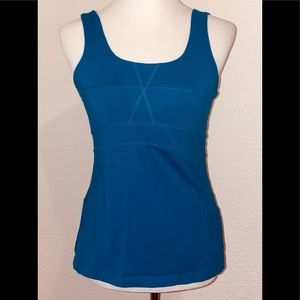 ATHLETA Athletic Scoop Neck Yoga Tank Top Medium